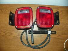 GROTE 5370 5371 TAIL LIGHTS TRAILER Truck Ford RV Chassis Semi U Bracket &Wiring