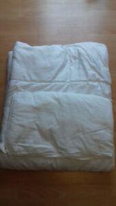 silentnight cot / cot bed toddler quilt duvet 4.5 tog and pillow