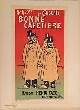 """FERNEL """"LA CHICORÉE BONNE CAFETIÈRE"""" (F.CERCKEL) 1899"""