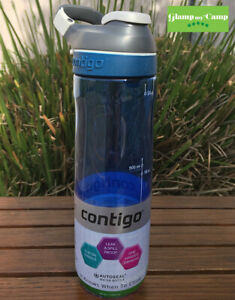 Contigo Hydration Autoseal Cortland Water Bottle 709ML - Blue (Monaco)