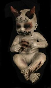 ¥ OOAK Scary Haunted Creepy Horror Gothic Occult Doll~ABBE¥S CREEP¥ DOLLS¥ 🌙