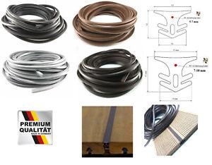 1 Meter Zuschnitt Fugenband für Terrassendielen Fugendichtung 5-7 oder 7-10 mm