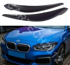 BMW 1 Series F20/F21 FaceLift only Headlights Eyebrows ABS Plastic Tuning