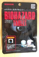Biohazard tablet ► sachet neuf ► resident evil bonbon ATTENTION : lire annonce