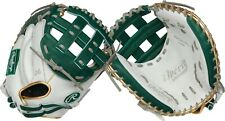"""New listing Rawlings Liberty Advanced 33"""" Color Series Fastpitch Catcher Mitt RLACM33FPDG"""