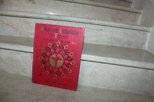 Almanach Catholique de France pour l'année 1907