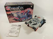 VINTAGE THUNDERCATS THUNDERTANK BATTLE TANK VEHICLE W/ORIGINAL BOX LJN 1986