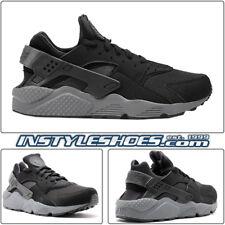 the latest 7123a 79904 Nike Air Huarache Sz 12 Black Dark Grey 2014 Release 318429-010