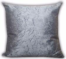 "large plain crush velvet Marble Crush cushions + covers or covers 20x20"",17x17"""