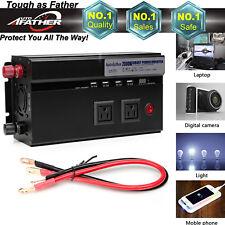 2000W/4000W Watt Peak Power Inverter DC 12V to AC 110V Car, Truck, RV,Pickup,4WD