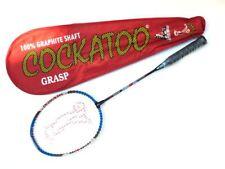 Agarre la raqueta de bádminton Cary caso del de la Escuela (rojo) de la raqueta