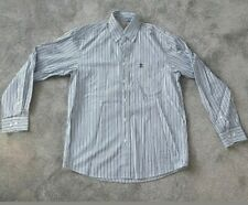 "River Woods Mens Blue White Striped Shirt Size S 42"" Chest BNWT"