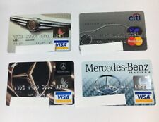 4 Expired Credit Cards For Collectors - Car Theme Lot (7037)