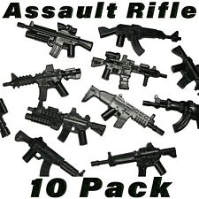 LEGO Assault Rifle Lot Minifigure SWAT Figure Weapons Accessory Military Army