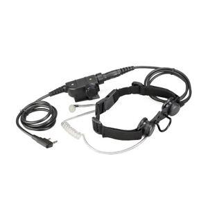 Taktisches Kehlkopfmikrofon Headset for RT3S Kenwood Baofeng UV5R 888S WEIERWEI