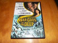 WAR-GODS OF THE DEEP Vincent Price Tab Hunter Susan Hart Sci-Fi Classic DVD