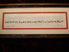 Singing in the Rain Lithograph 154/750 Joyce Stone 1978 COA Birds Artist Signed