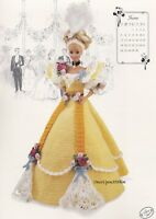 Miss June 1994, Annie's Gibson Girl Crochet Doll Clothes Pattern Booklet 7706