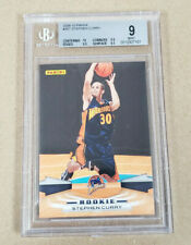 2009-10 Panini #357 Stephen Curry RC BGS 9 Warriors 10 Centering $249.99