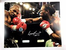 Lennox Lewis Autograph Boxing Signed 16x20 Photo Picture JSA WP Mike Tyson