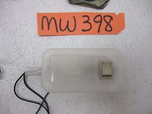 SAAB 9-3 BACK REAR DOME LIGHT CARGO LIGHT DOOR RIGHT LEFT LAMP SWITCH LENS COVER