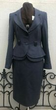 Ladies Next Size 12 Blue Skirt Suit. Jacket And Skirt - Perfect