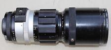 Nikon Nikkor-H Auto F4.5 300mm Manual Focus Camera Lens 72mm Red Filter Japan