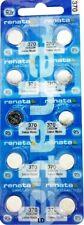 370 renata sr920w (10 stück) d370 uhrbatterie versandkostenfrei authorized seller