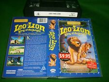VHS *LEO THE LION* Rare Australian Good Times - Classic Animated Adventure Story