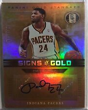 2011-12 Panini Gold Standard Paul George Signs Of Gold Auto #72/149