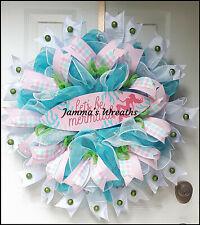 Mermaid Deco Mesh Door Wreath,Home Decor {Handmade}