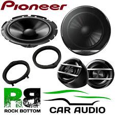 Pioneer Honda Crosstour 2010-02 600W Component Kit Front Door Car Speakers