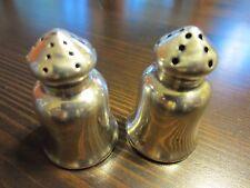 VTG L 450 Sterling Silver Signed Salt & Pepper Mini Personal Shakers Set 13 Gr.A