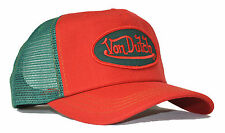De van Dutch Mesh Trucker base cap [classic red Green] gorro gorra basecap sombrero