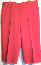 NEW WITH TAG ALFRED DUNNER WOMEN'S ST.TROPEZ CAPRI PANTS SIZE 18 COLOR WATRMLN