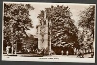 Postcard Ripon in North Yorkshire view of The Clock Tower RP