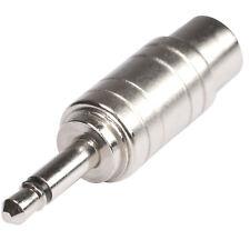 HICON Adapter 3,5mm Mini Klinke Stecker auf RCA Cinch Buchse 2-pol | HI-JM3CI-MF