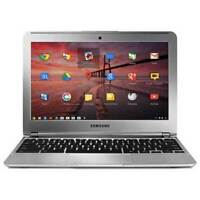 Samsung Chromebook 11.6 XE303C12 1.7GHz, 2GB Ram, 16GB SSD, with Samsung CHARGER