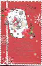 FOR A FANTASTIC NAN CHRISTMAS CARD, TOP QUALITY,LOVELY VERSE,TRADITIONAL (C5)