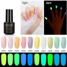 ROSALIND Glow-in-the-Dark UV LED Soak Off Gel Nail Polish Night Glow Lacque Top