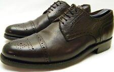 MENS GORDON & BROS DIE SCHUH-MACHER BRN LEATHER OXFORD DRESS SHOES 43 USA 9.5 D