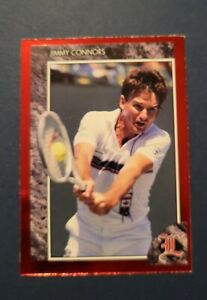 1992 Sports Legends Jimmy Connors (#7)