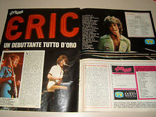 ERIC CARMEN singer clipping articolo foto photo 1976 FESTIVALBAR