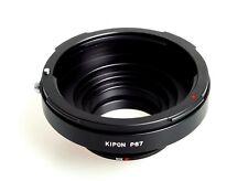 New Kipon Adapter for Pentax 67 (6x7) P67 Mount Lens to Nikon F AI Mount Camera