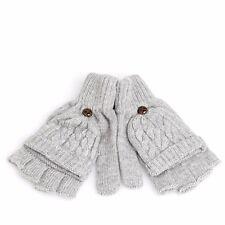 Winter Women Men Soft Fingerless Gloves Mittens Knitted Glove Hand Warmer
