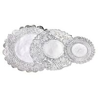 36 Assorted Paper Doilies White Catering Party Table Decoration 3 Sizes UK
