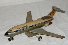 Altes Lufthansa Flugzeug Flieger Blechspielzeug Blechflugzeug Flyer fly TM Japan