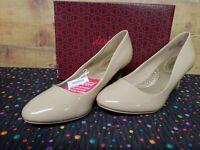 Dexflex Comfort 171649 WW Karma Nude Women's Heels Shoes Size 10W NWB