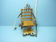 "Dollhouse Miniature ""Old Sparky"" Electric Chair #P6630 Town Square Minis 1/12th"