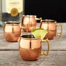 OLD DUTCH MOSCOW MULE 16 Oz Copper Mugs 4 Pack - NEW